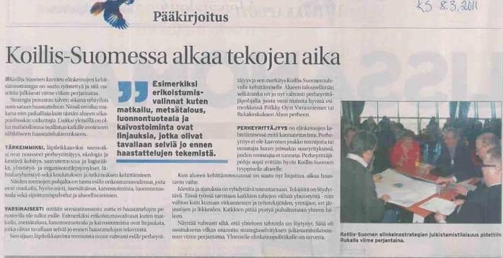 Delfoi, Koillis-Suomi, Viestintäsuunnitelma25